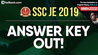 SSC JE Answer Key 2019 Out! | Check SSC Junior Engineer Paper 1 Answer Key | SSC JE Expected Cut Off