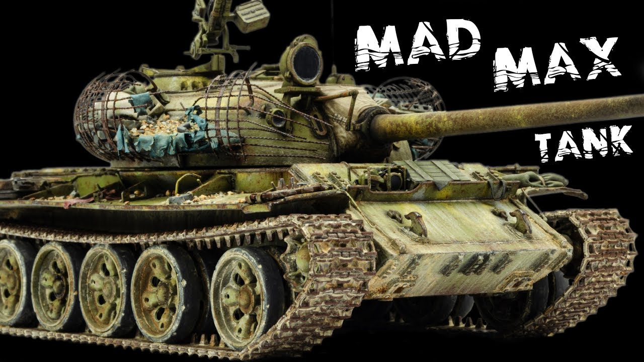 Rebar, Debris, Dust & Grime - Let's Finish This Mad Max T-55