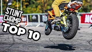 TOP 10 Tricks Russian Stunt Champ