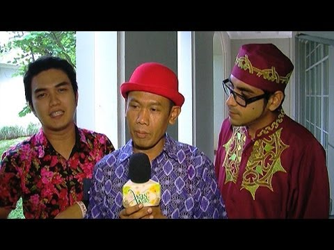 Trio Ubur Ubur Ikut Ramaikan Karnaval SCTV 2014 - Was Was 13 Februari 2014