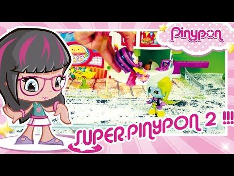 SUPER PINYPON 2: Super Eroina contro Super Cattiva!! Mondo Pinypon