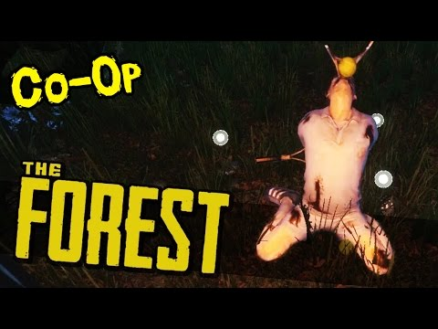 KINKY TENNIS SEX GAMES AND A CRUCIFIX!?! The Forest Co-Op [Ep 4] (Gameplay/Walkthrough/LetsPlay)