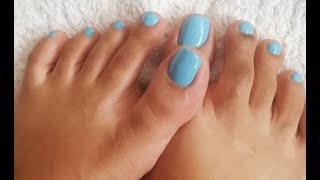 How to do pedicure at home (Easy)