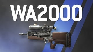 WA2000 - Modern Warfare 2 Multiplayer Weapon Guide