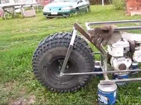 Fat Tire Minibike 3 Front Fork Youtube