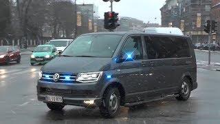 Unmarked Police Cars responding Code3 in Copenhagen, Denmark! #766