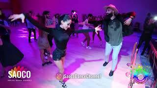 Dez Salsero and Gamze Özcan Salsa Dancing at Istanbul Social Dance Marathon 2019, Sat 02.02.2019
