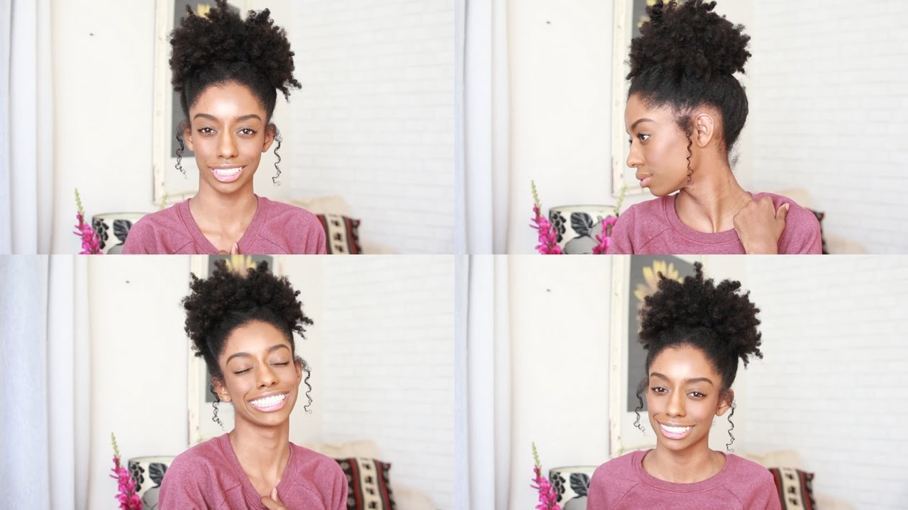 Awesome Medium Length Hairstyles For Natural Hair Pictures - Styles ...