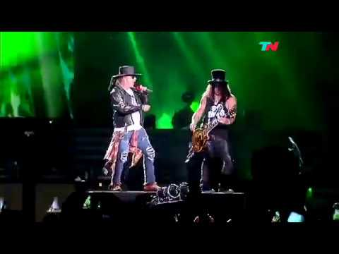 Guns 'N' Roses – Welcome to the Jungle (vivo) – Buenos Aires – 4/11/2016