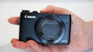 Canon PowerShot G7X Review