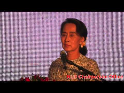 Daw Aung San Suu Kyi's Speech form Suu Foundation Opening Ceremony