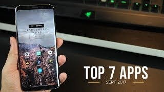 Top 7 Best Apps for Android - 2017 (September)