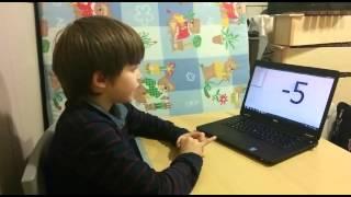 Ментальный гений Альберт изучает ментальную арифметику(Приглашаем Вас на 2-х дневные семинары по ментальной арифметики в Центр Ментальной арифметики