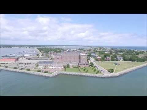 DJI Phantom 3 - The Chamberlin / Fort Monroe / Hampton, VA