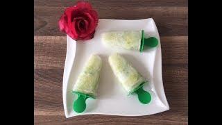 DIY Ingwer-Gurken-Eis selber machen, einfach und schnell, mit und für Kinder