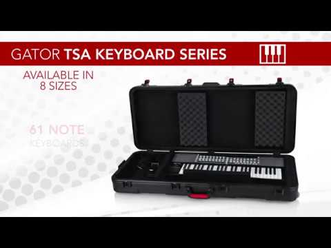GTSA Series Keyboard Flight Cases From Gator Cases