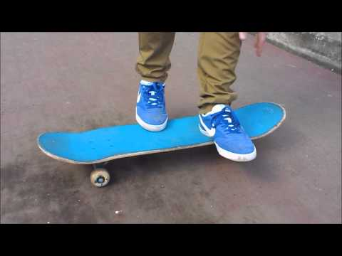 how to ride a skateboard for beginners video