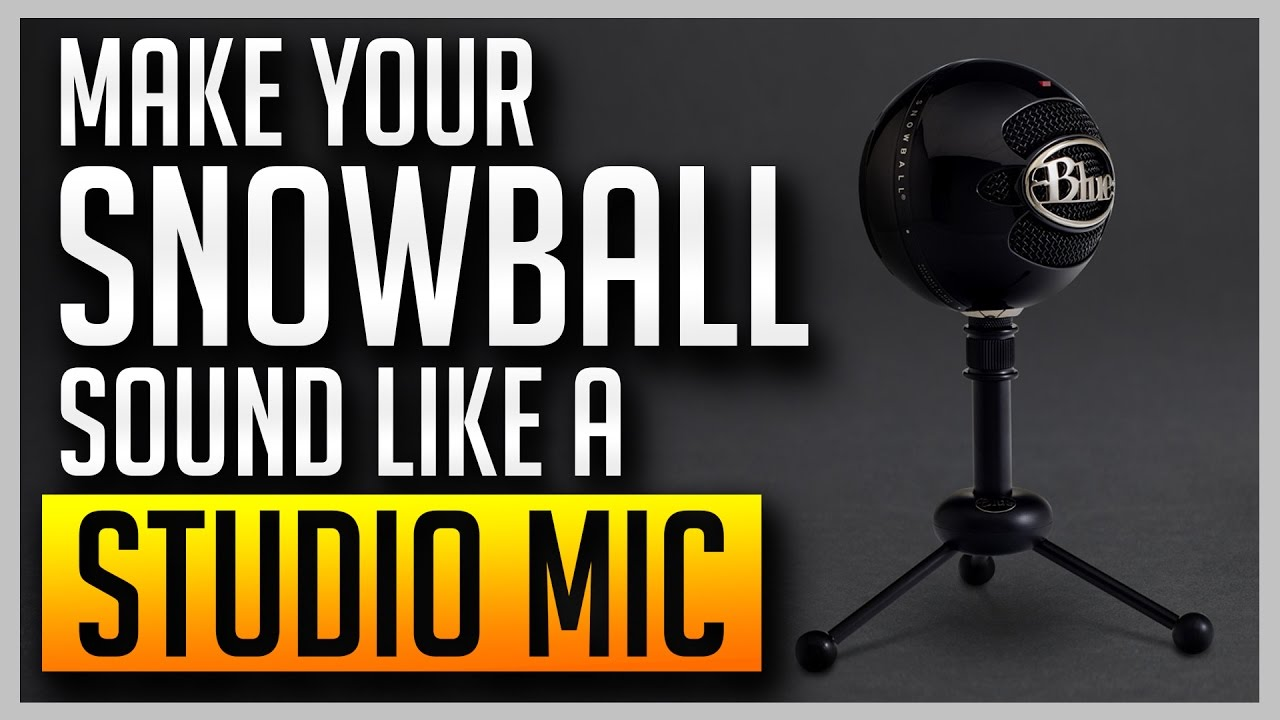 how to use a blue snowball mic on xbox