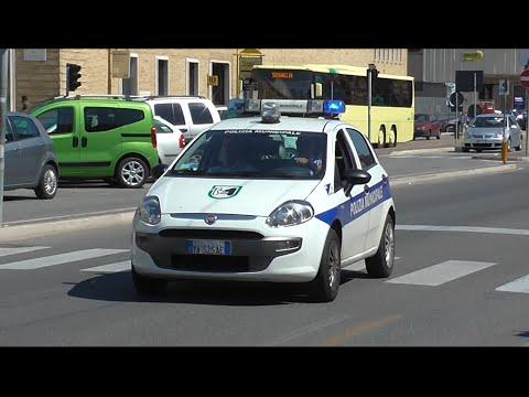 (Video Speciale) Inseguimento Polizia Municipale di Ancona / (Special Video) Italian Police Chase