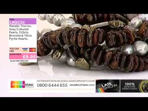 Morganite and and Andalusite for jewellery making: JewelleryMaker LIVE 21/10/2014