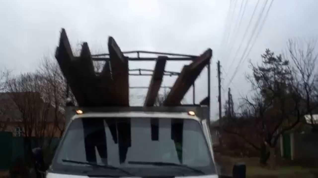 Катюша на газель своими руками видео