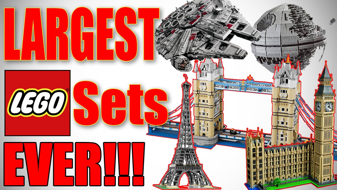 Top 10 Largest Lego Sets Ever 2016 Hd Youtube