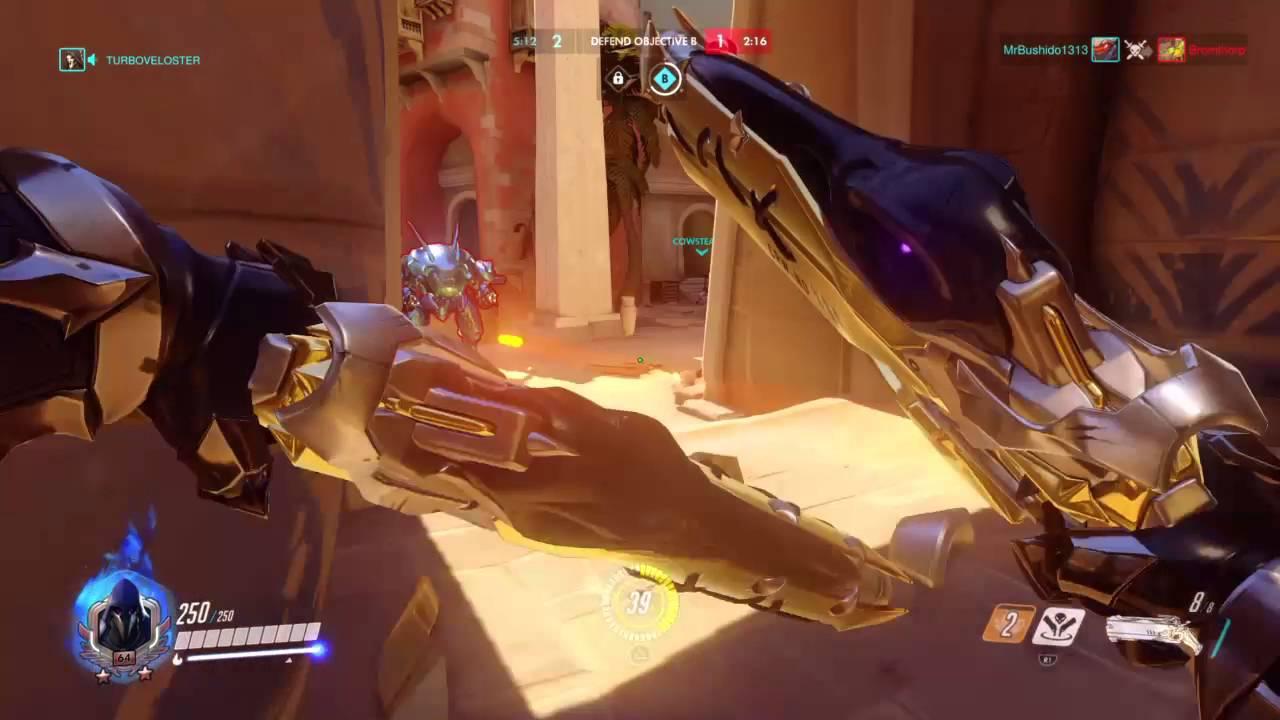 how to get golden guns in overwatch
