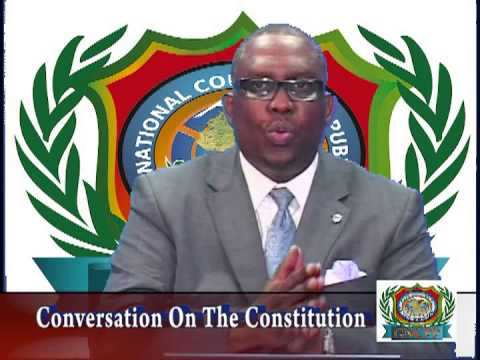 "VTS01_1 GNCPP ""A FORUM FOR CIVIL SOCIETY"" CONVERSATION ON  THE GUYANA  CONSTITUTION"