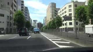 新大橋通り(東京都道50号東京市川線):千葉県境~海岸通り交点[東京23区]