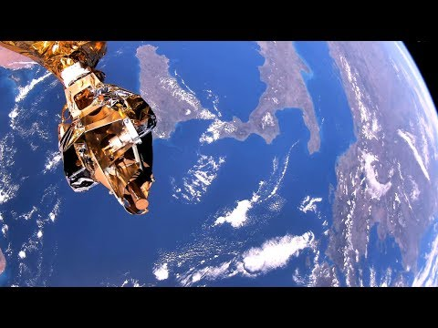 4K footage streamed from space