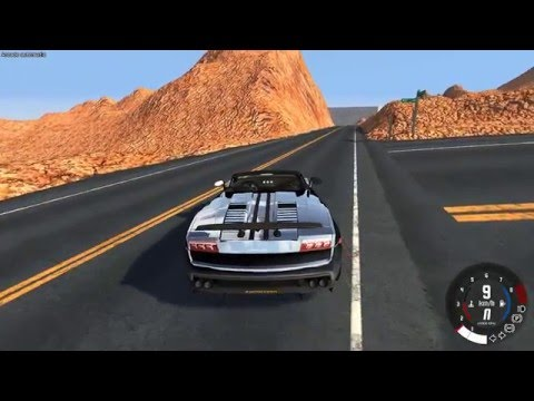 BeamNG.drive: Saltando o Grand Canyon 2