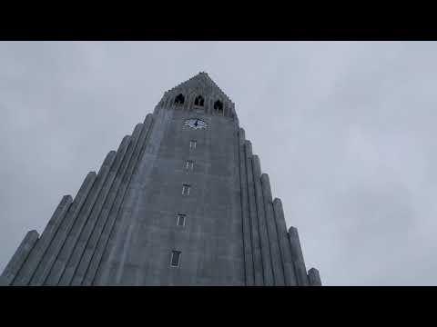 Hallgrímskirkja, Church of Hallgrímur - Iceland 2017