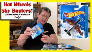 Hot Wheels Sky Busters Airplanes and Helicopters! International Release
