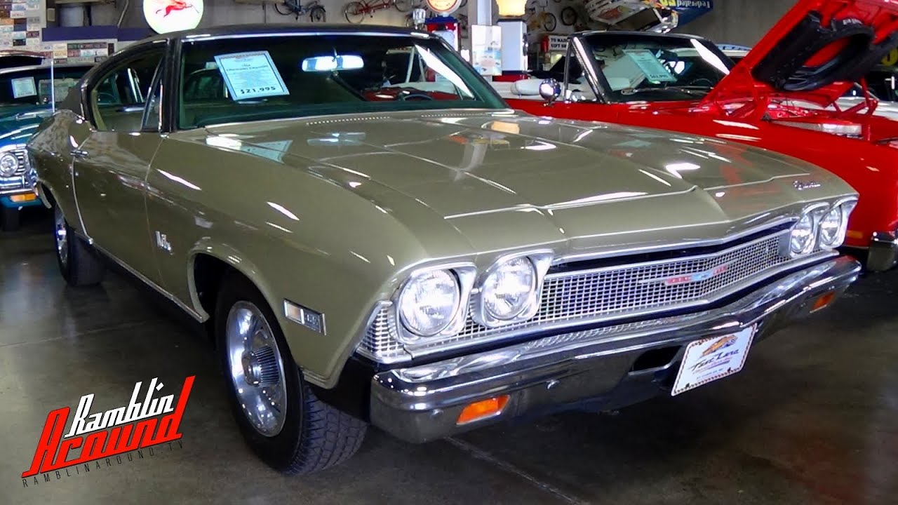 Chassis Service Manual 1968 Chevrolet Chevelle Camero