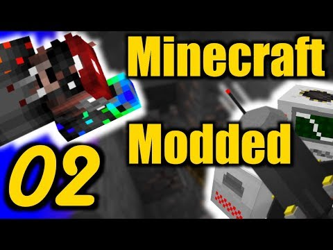 Minecraft Industrial MODDED Lets Play EP2- Mining New Ores! (1.7.10)