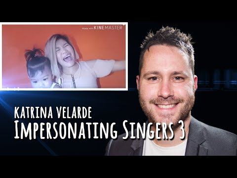 Katrina Velarde Impersonating Singers Part 3 - BURN | REACTION