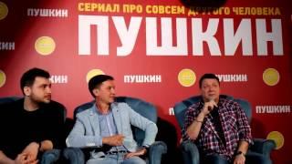 Сериал СТС «Пушкин» представили в Петербурге (15)