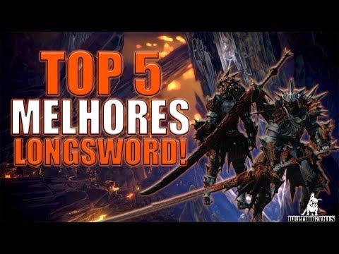 Monster Hunter World - TOP 5 MELHORES LONGSWORD! thumbnail
