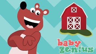 Old MacDonald Had a Farm | Nursery Rhyme Cartoons for Kids | Baby Genius