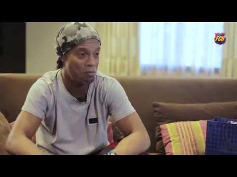 Ronaldinho: Recuerdo con cariño haber hecho el primer pase de gol a Messi