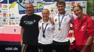 Erfolgreiche Premiere bei Apnoe-Weltmeisterschaften für Max Poschart 100 m Speed Apnea