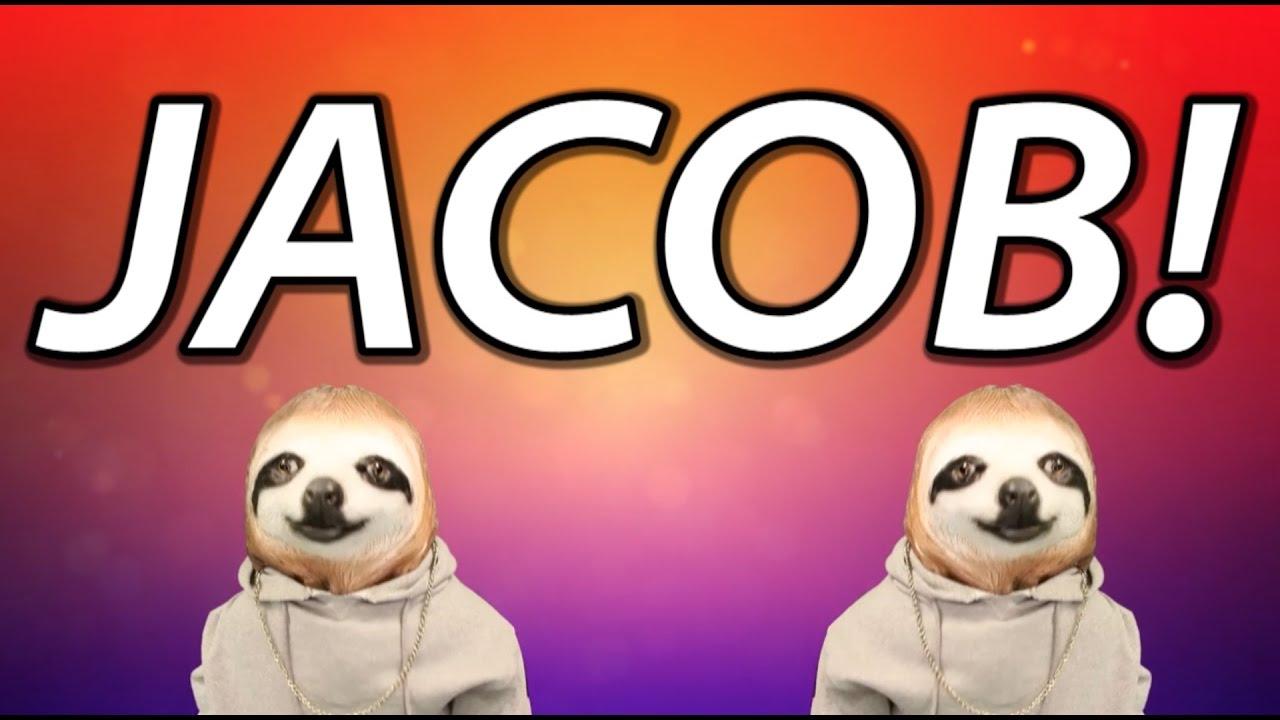 Happy Birthday Jacob Sloth Happy Birthday Rap Youtube