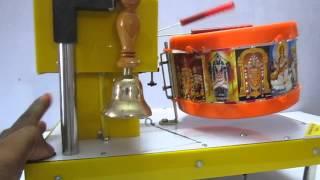 temple drum bell ringing machine