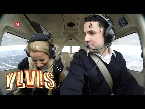 Ylvis - Fakes plane crash in 'Vegards' Airways' (English subs)