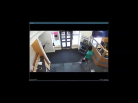 Surveillance video of 1st Advantage Credit Union robbery