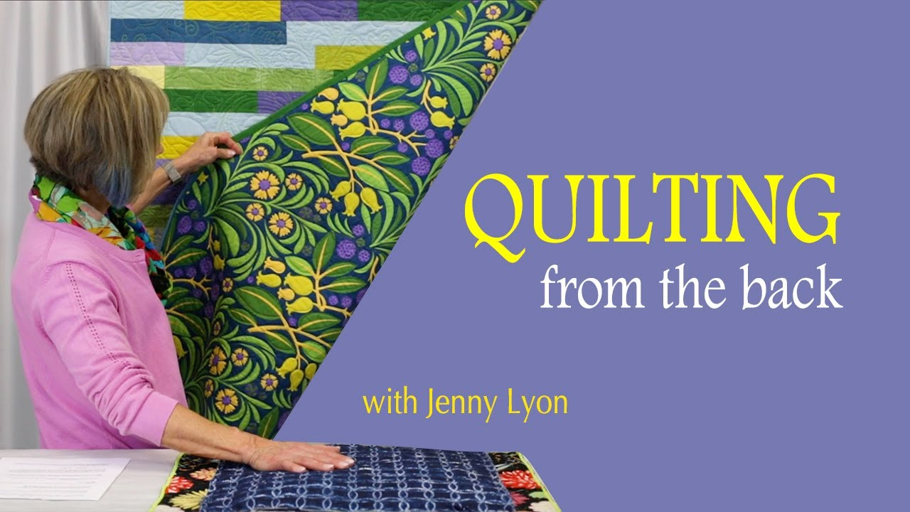 How to Quilt From The Back - C&T Publishing 2019-03-12 21:01
