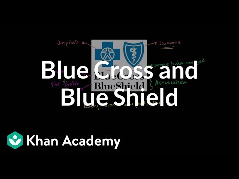 Blue Cross and Blue Shield | Health care system | Heatlh & Medicine | Khan Academy