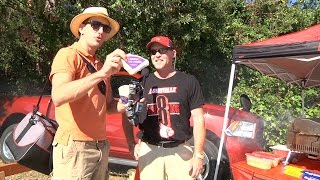 Louisville Fans Sample Clemson Blue Cheese