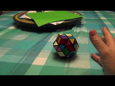Face Turning Rhombic Dodecahedron Part 1:  Help me with this parity!