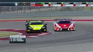 Circuit of The Americas 2017 Lamborghini Super Trofeo